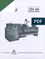 TOS SN 40 50 German Txt