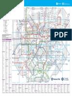 London Rail Tube Map