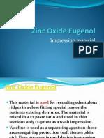 Zinc Oxide Eugenol2012