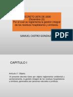 Decreto2676 Del 2000 Residuos Hospitalario