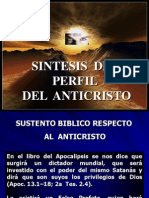 Sintesis Del Del Perfil Anticristo