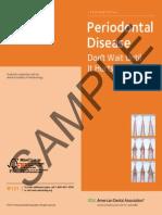 Periodontal Disease Ada