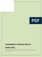 Assignment Computer