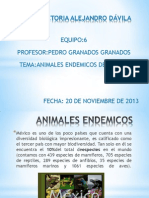 Animales Endemicos