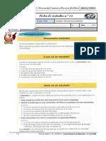 FT 14 Tratamento de Dados