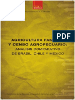 Agricultura Familiar y Censo Agropecuario. Brasil Chile y Mexico