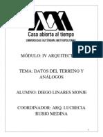 Analogos y Datos Del Terreno