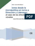 Reflexiones desde la micropolítica en torno a dirección y liderazgo
