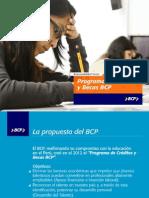 Credito de Estudios Patronato Bcp
