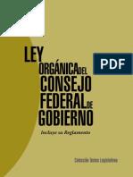 2 Ley Organica Del Consejo Federal de Gobierno Con Reglamento (1)