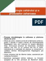 L 5 Microbiologia Zaharului, Produselor Zaharoase Si Ciocolatei