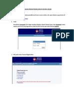 Manual Pengguna Semakan Pendaftaran Kursus Secara Online