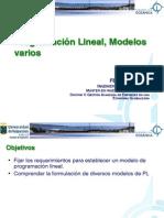 ICO 2-1 PPL Programacion Lineal - Modelos Varios