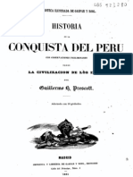 Prescott Historia de La Conquista Del Peru