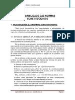 41. Aplicabilidade Das Normas Constitucionais