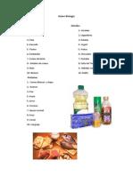 Alimentos Ricos en Lipidos Glucidos y Proteinas
