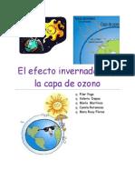 El Efecto Invernadero y La Capa de Ozono