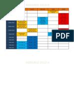 Horario 2013 II
