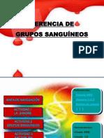 HERENCIA DE LOS GRUPOS SANGUÍNEOS 9° 2014-2.pptx