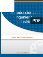 Introduccion a La Ingenieria Industrial