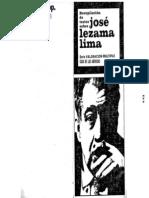 50796 VITTER - La Poesía de José Lezama Lima y El Intento de Una Poesía Insular