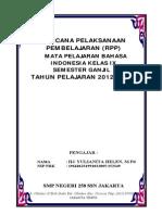 RPP TAHUN 2012 - 2013