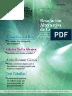 Revista Saber y Justicia - Mediacion