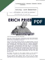 Erich Priebke Niemals Aufgeben