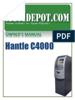 Hantle C4000 ATM Owners Manual