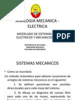 Sistemas Analogos Mecanicos y Electricos