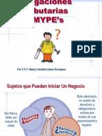 02 - Obligaciones Tributarias MYPES.pps