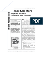 Kevin Ford- 2005 - Brands Laid Bare - Book Review