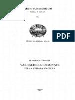CORBETTA Francesco 1615 1681 Obra Completa FACSIMIL Bolonia 1639 PDF