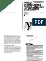 Lavandera, Beatriz. (1990). Curso de Linguistica Para El Analisis Del Discurso.cap. 3 y 5pdf