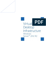 Windows Server 2012 R2 Virtual Desktop Infrastructure White Paper