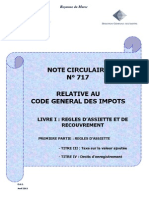 Note Circulaire 717 Tome2