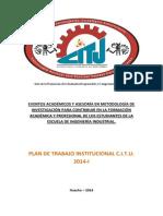 Plan de Trabajo (CITU 2014)