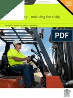 Forklift Safety Reducing Risks
