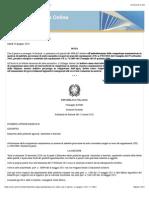 Cons. Stato – sez. II – parere 21 giugno 2012 n. 2991 |