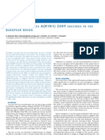 Pandemic Vaccines (ECDC)