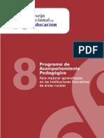 Programa de Acompañamiento Pedagógico Para Mejorar Aprendizajes en Las Instituciones Educativas de Áreas Rurales
