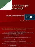 8srie Oraessubordinadassubstantivas 090424164528 Phpapp02