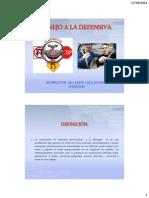 Manejo a La Defensiva Setiembre 2012