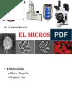 Clase 0i El Microscopio