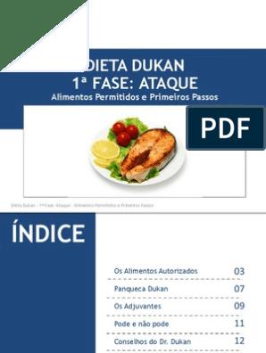 Dieta dukan fase ataque alimentos permitidos