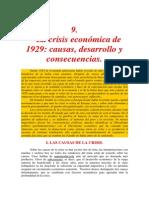 La Crisis Del 29