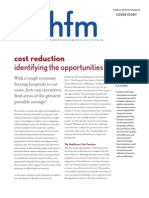 Cost Reduction Hospitals 2010