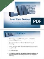 Competence Platform for Value Added Wood Anders Ekholm 071025[1]