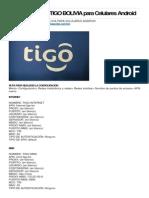 Configuracion de TIGO VIVA y ENTEL BOLIVIA Para Celulares Android 4p