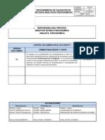 Po-04 Procedimiento de Validacion de Metodos Analiticos